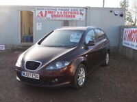 SEAT ALTEA XL 2007 1.9 LTR TDI 1 YEAR FRESH MOT FULL SERVICE HISTORY WATER PUMP & TIMING BELT DONE!!