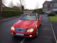 Mercedes C230 Coupe Sport Low 72K Miles Full Service History 1 Prev Lady Owner May PX