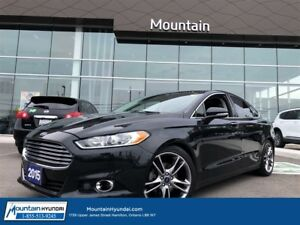 2015 Ford Fusion TITANIUM | LEATHER | SUNROOF | NAVIGATION