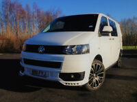 VW TRANSPORTER. CAMPER. 2011. ROCK AND ROLL BED. SMEV COOKER. 140ps.