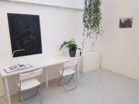 Artists Desk Space for Rent in Archway, North London
