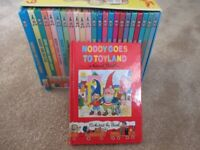 Enid Blyton Full Boxed Set of 24 Hardback Noddy Books - Excellent Condition