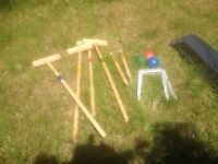 Croquet Set (Yellow Ball Missing!)