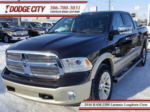 2016 Ram 1500 Laramie Longhorn   Crew   PST Paid - Side Steps