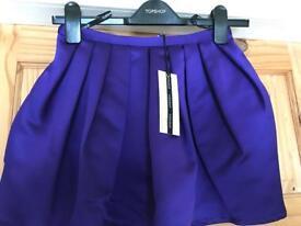 Brand new Topshop blue skirt - 8
