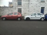 2 x Vauxhall corsa spares or repairs read full ad