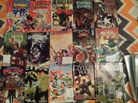 x15 Comic Book bundle (Sonic, Pokemon, Suicide Squad etc)