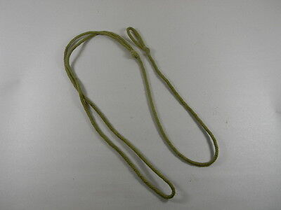 BRITISH ENFIELD OR WEBLEY REVOLVERS KHAKI COLOR COTTON LANYARD