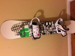 Burton board/bindings