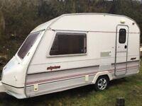 Swift Sprite Alpine 2/3 Berth caravan+ Awning