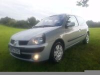 2004 '54' RENAULT CLIO 1.5 DCi 3 EXTREME £30 A YEAR TAX 1 LADY OWNER ALL RECEIPTS/MOT'S/HISTORY
