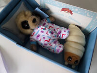 Brand new Meerkat Baby Oleg Toy (still in box) £11