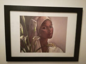 Beautiful giclee painting by famous British artist Samere Tansley