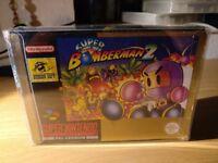 Super Bomberman 2 Super Nintendo SNES Boxed!
