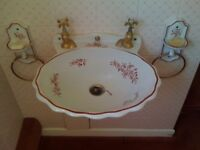 Vintage Maurice Herbeau bathroom set