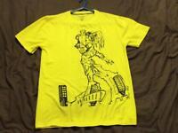 Original Cyberdog London shirt. Luminous yellow