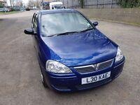 Vauxhall Corsa 1.2 petrol ECOTEC 2006 Full Service History, private plate,2 keys