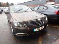 MERCEDES-BENZ E CLASS E220 CDI BlueEFFICIENCY Executive SE 4dr Tip Auto (grey) 2012
