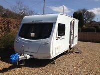 2013 Lunar Quasar 462, 2 berth lightweight caravan. £8950 for quick sale