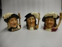 Three Musketeers Large Toby jugs