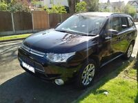 CONGESTION CHARGE FREE MITSUBISHI OUTLANDER SUV AVAILABLE FOR HIRE MON - FRI: 9am - 4pm IN SW7