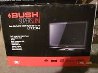 """Excellent condition 22"""" full HD LED TV and Sony Blu Ray internet DVD player with Blu Ray dvd's."""