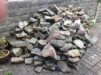 A large amount of good quality stone