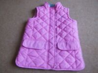GIRL'S JOULES GILET BODY /WARMER. AGE 8 YEARS.
