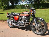 Honda CB750 Four K3 1973 Flake Sunrise Orange Colorado Import 2015