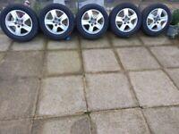 Michelin winter tyres Audi alloy wheels 225/55/16