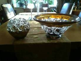 Lattice bowl and candle holder