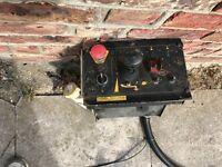 Versalift cherry picker control box