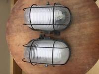 Pair of walk lights