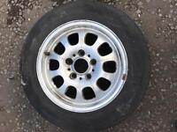 Bmw spare alloy wheel