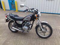 Huoniao HN125-8 motorbike in good condition 12 months MOT