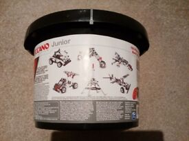 Brand new Meccano tub