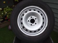 Renault Trafic wheel and tyre