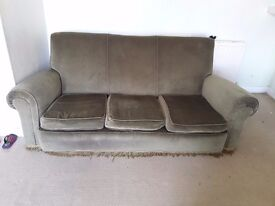 Three seater sofa for sale £10