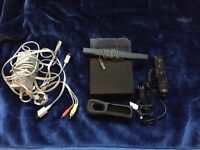 Nintendo Wii+ Remote + Remote cover + Joystick + power cable