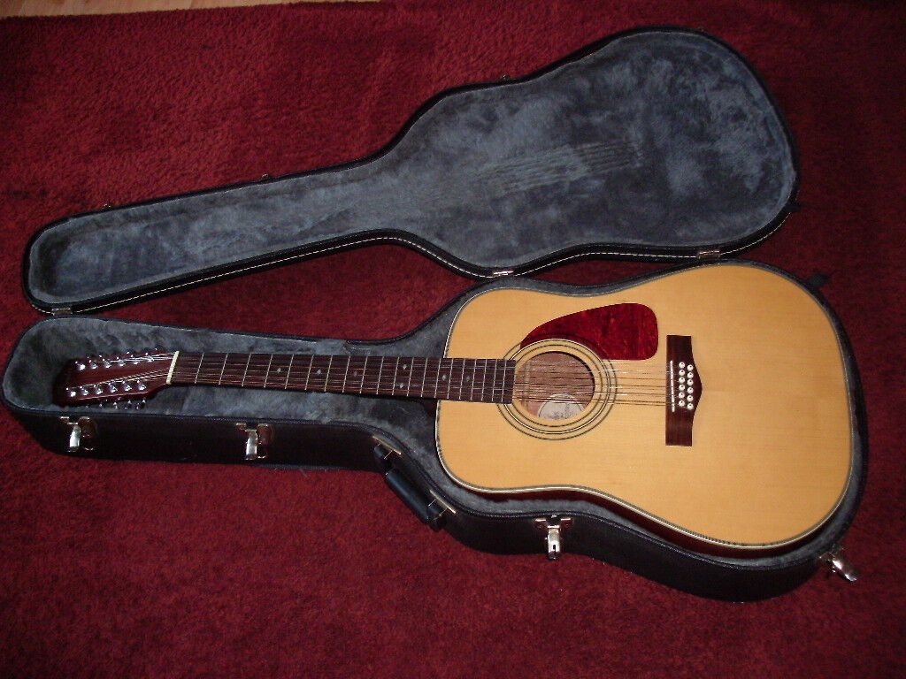 fender 12 string acoustic guitar made in korea 1990s with hard or Fender Coronado 12 String Guitar fender 12 string acoustic guitar made in korea 1990s with hard or semi rigid case