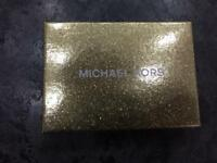 Genuine Micheal Kors Leather ID Card Holder NEW