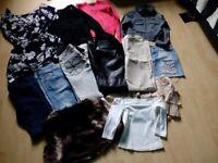 Bundle Ladies clothes size 8-10 (13 items)
