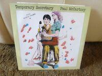 Paul McCartney 12'' single Temporary Secretary 1980