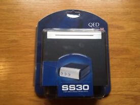 QED SS30 3 way speaker switch brand new (unopened in packaging) - 2 available