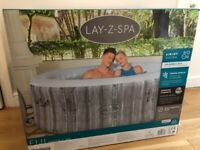 LAZY LAY Z SPA HOT TUB JACUZZI BATH POOL INFLATBLE NEW IN BOX 2021 FIJI MIAMI CANCUN 2 - 4 PERSON