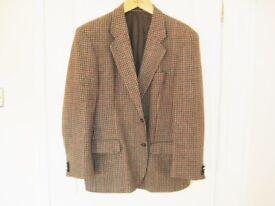 Very Nice Marks And Spencer Wool Tweed Jacket