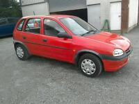 1996 Vauxhall Corsa 1.4 LS 5 door only 47000 mls ( can be viewed inside anytime)