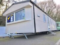 Cheap 3 bedroom caravan for sale in Tenby on Kiln Park 2017 model central heated 2017 site fees inc
