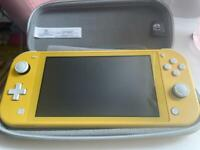 Nintendo Switch Lite - Yellow (comes with 3 games)