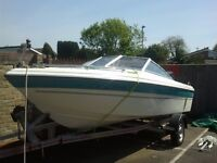 17 foot bayliner bow rider 90 hp outboard
